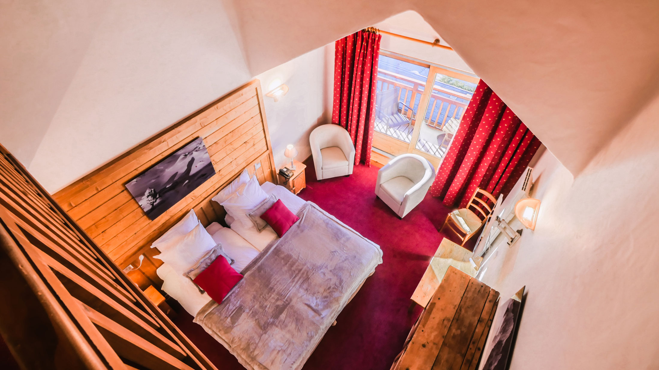 Mezzanine Suite – 38m²
